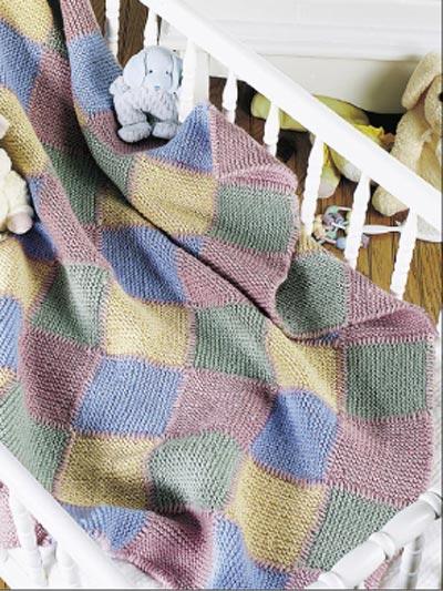 Baby Blocks Blanket photo