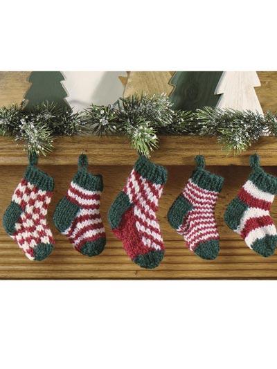 Mini Christmas Stocking Set photo