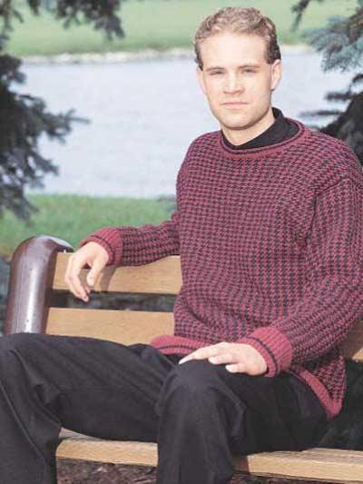 Men's Tweed Pullover photo