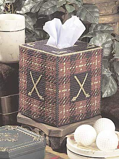 Golfer's Tissue Topper photo