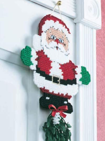 Mistletoe Santa photo