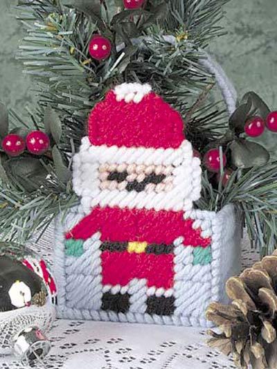 Little Santa Basket photo