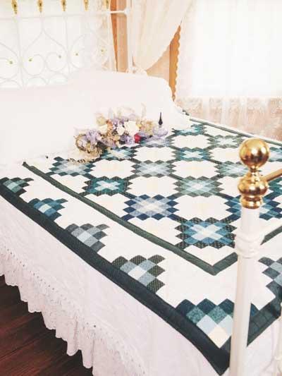 Mosaic Scrap Quilt photo