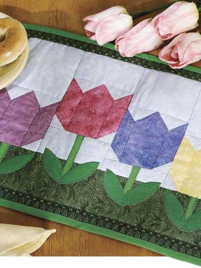 Spring Tulip Place Mat photo