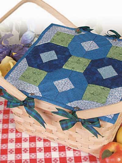 Bluebell Basket Topper photo