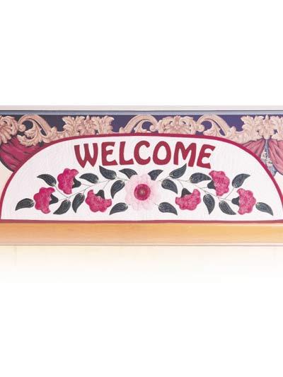 Welcome Door-Top Banner photo