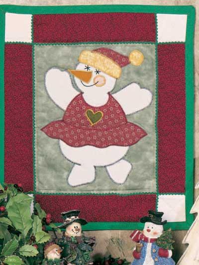 Dancing Snowgirl Banner photo