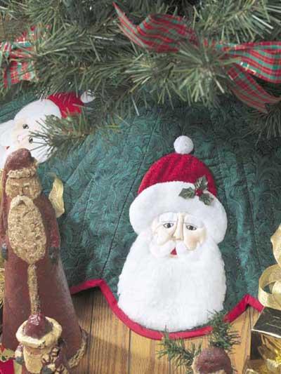 Santa Tree Skirt photo