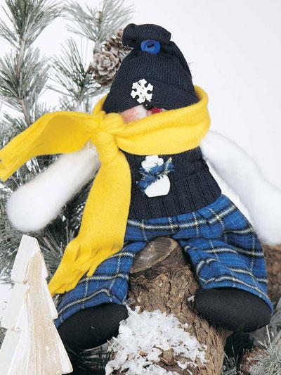Snowman Doll photo