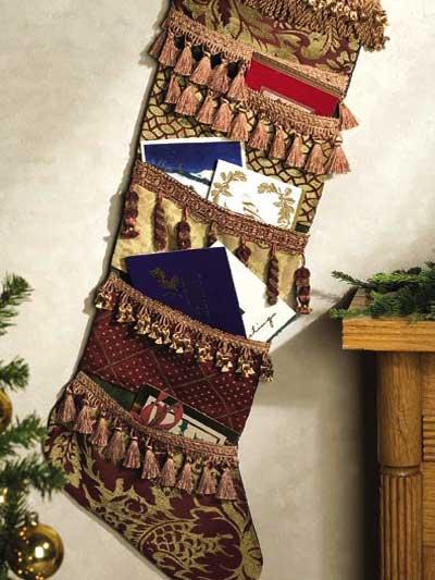 Christmas Card Stocking photo