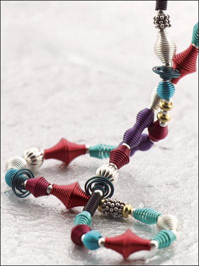 Crazy Coils Necklace photo