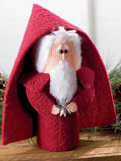 Chenille Santa photo