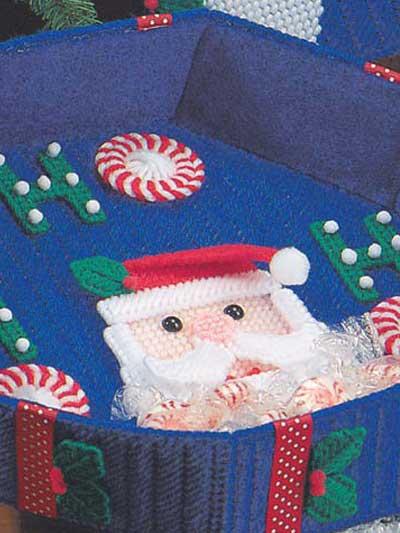 Ho Ho Santa Candy Dish photo