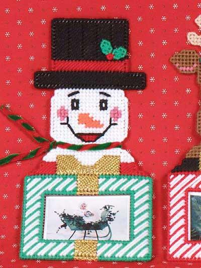 Reindeer & Snowman Frames photo
