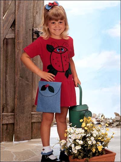 Sweet Little Ladybug Dress Set photo