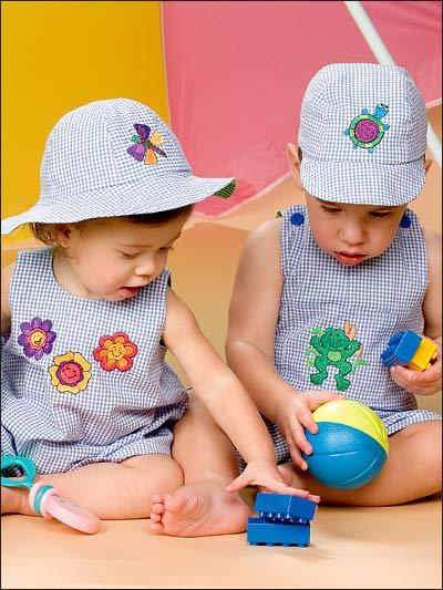 Kidstuff Romper Sets - Sewing | Free Patterns
