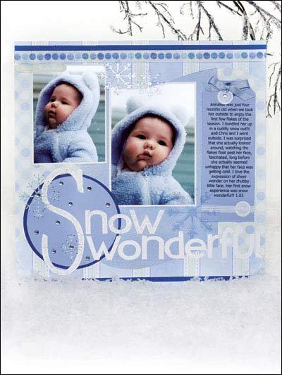 Snow Wonderful photo