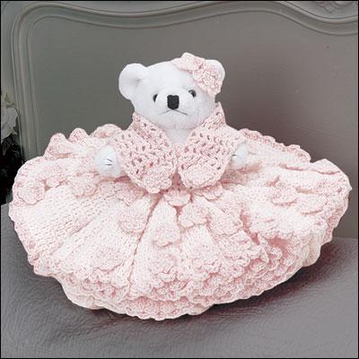 Teddy Bear Bed Dolls