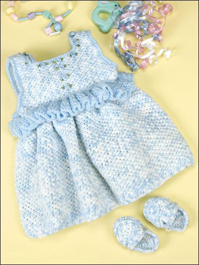 Free Crochet Pattern Baby Jumper : Crochet - Apparel - Baby Blue Jumper -- Free Crochet Baby ...