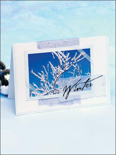 Winter Card II photo