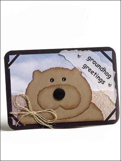 Groundhog Greetings photo