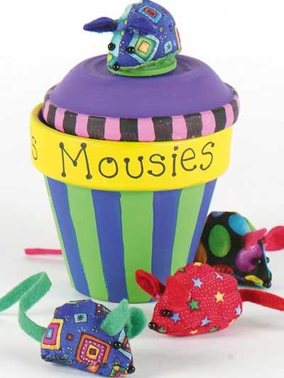 Mousie Treat Jar photo