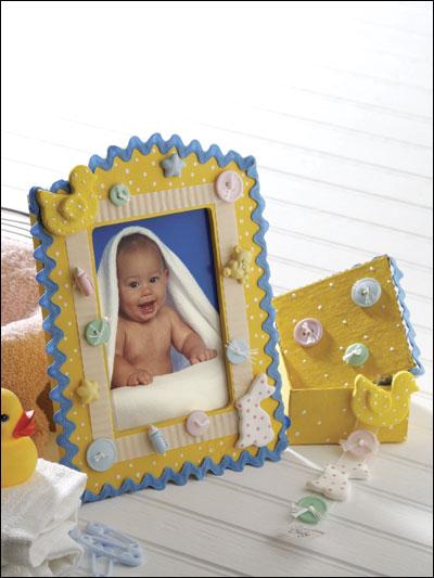 Shades of Spring Baby Set photo
