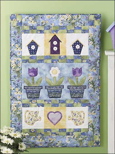 """Upsy Daisy"" Garden Quilt photo"