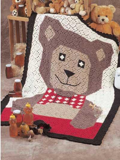 Teddy Bear Afghan photo