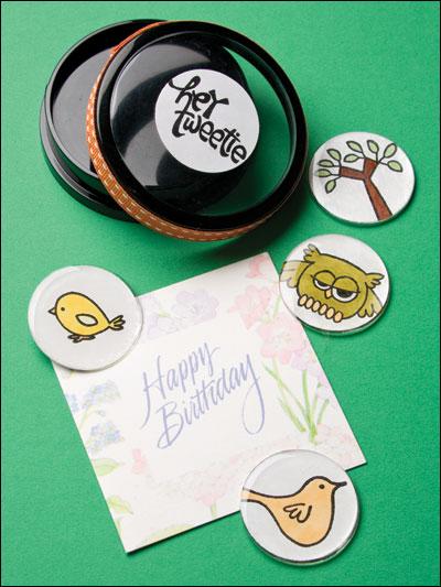 Hey Tweetie Magnet Gift Set photo