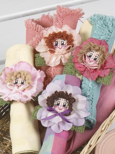 Napkin Ring Blossoms photo
