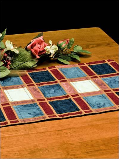 Make Mine Plaid Table Runner photo