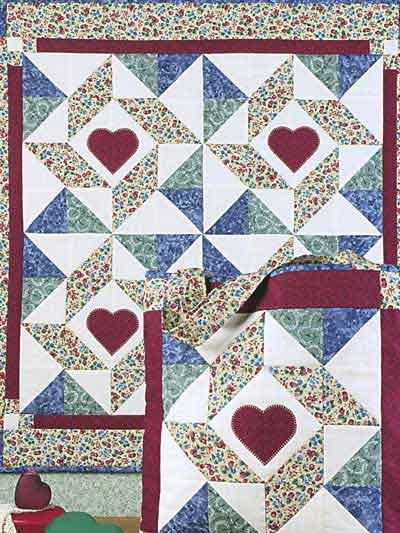 Windblown Star Tote & Wall Quilt photo