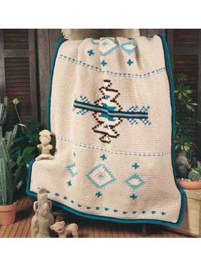 Native American Afghan photo