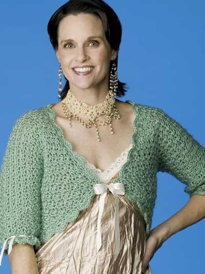 Bolero Jacket Crochet Free Patterns