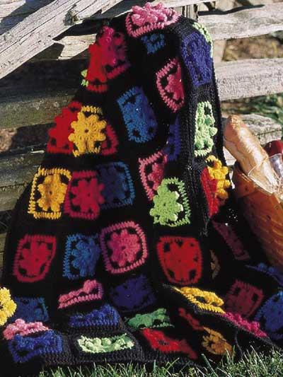 Fiesta Scrap Afghan photo
