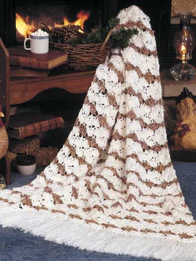 Winter Wheat Afghan photo