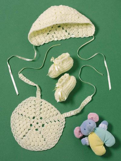Crochet - Gift Sets - Yellow Baby Set