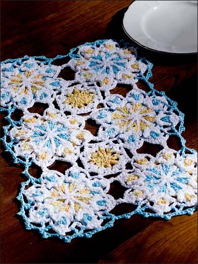 Celtic Crochet Place Mat photo