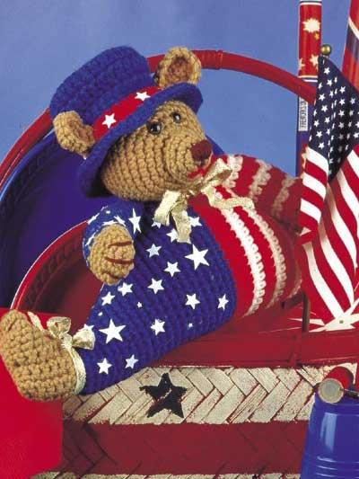 Yankee Doodle Bear photo