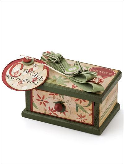 Christmas Memories Box photo