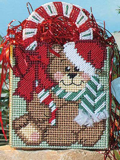 Candy Cane Bear photo