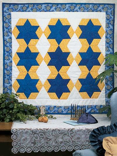 Hanukkah Star Quilt photo