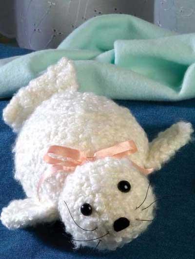 Baby Harp Seal photo