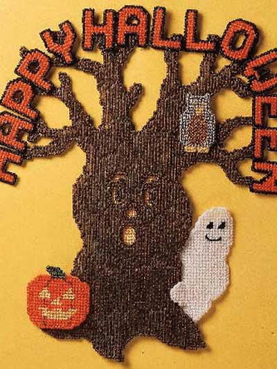 Season's Greetings - Halloween Tree photo