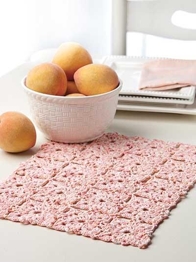 Peaches & Cream Place Mat photo