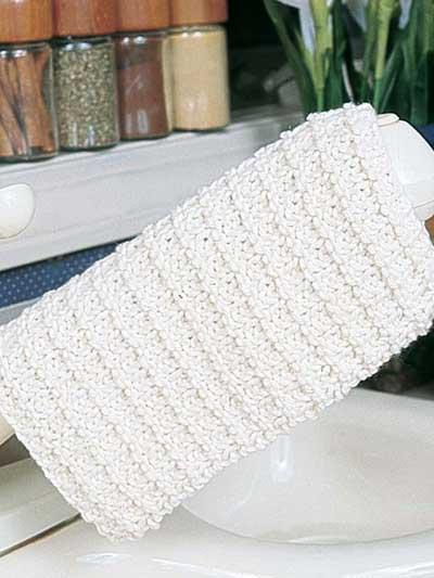 Cotton Dishcloth photo