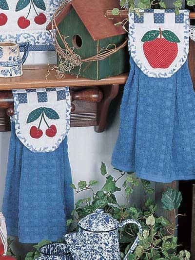 Apple & Cherry Kitchen Towel Set photo