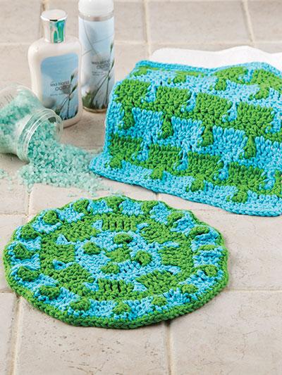 Tentacle Stitch Spa Cloths photo