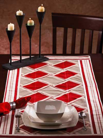 Diagonal Squares & Stripes photo